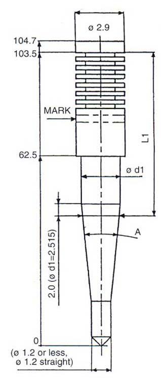 N427-OC Series Keihin Jet Needles for Keihin FCR35 FCR37 FCR39 FCR41